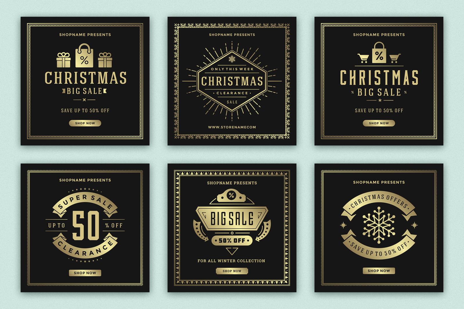Instagram Christmas Sale