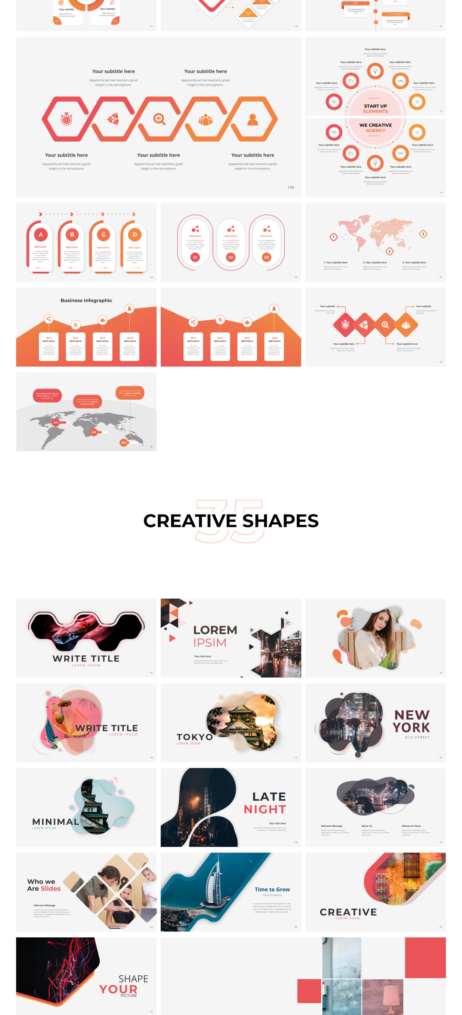 Massive Infographics - Smooth Animated Template