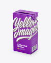 2000ml Carton Pack Mockup