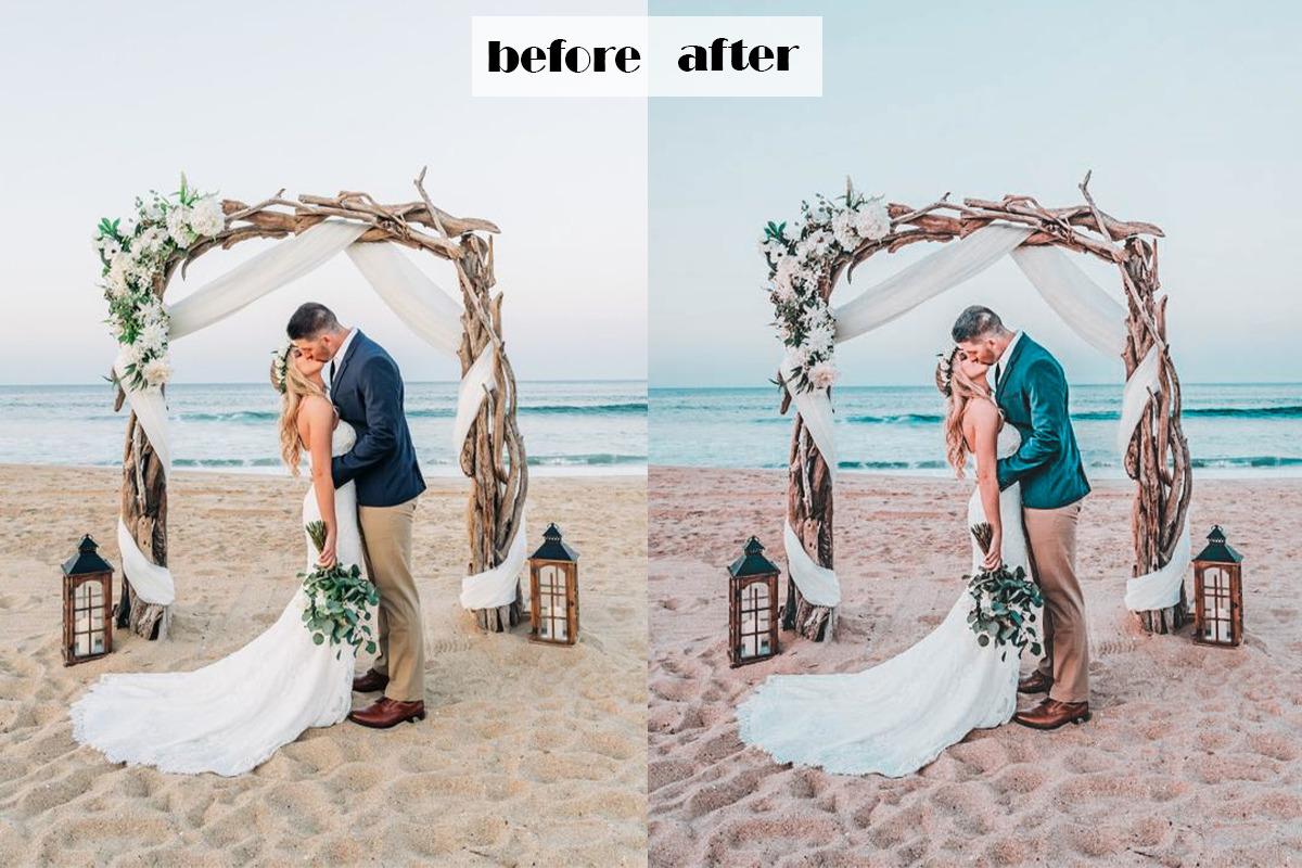 Beach Wedding Lightroom  Presets | Mobile + Desktop