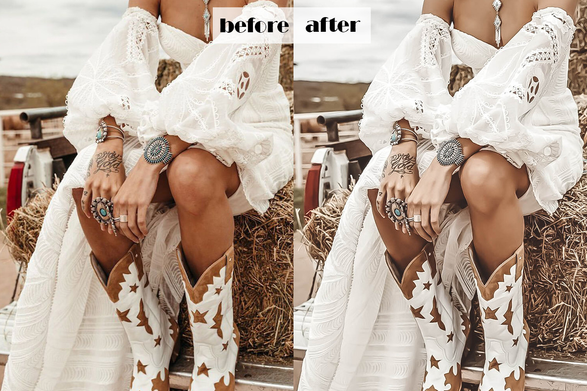 Boho Queen Lightroom Presets | Desktop & Mobile