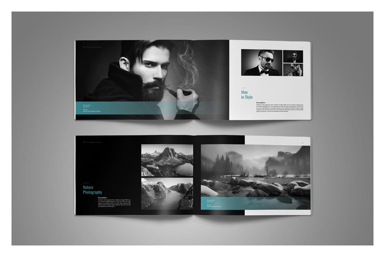 PSD Photo Album Template