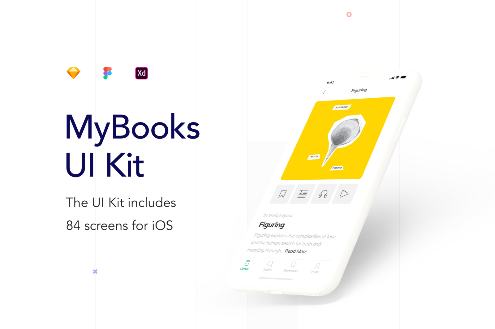 MyBooks Reading App UI Kit