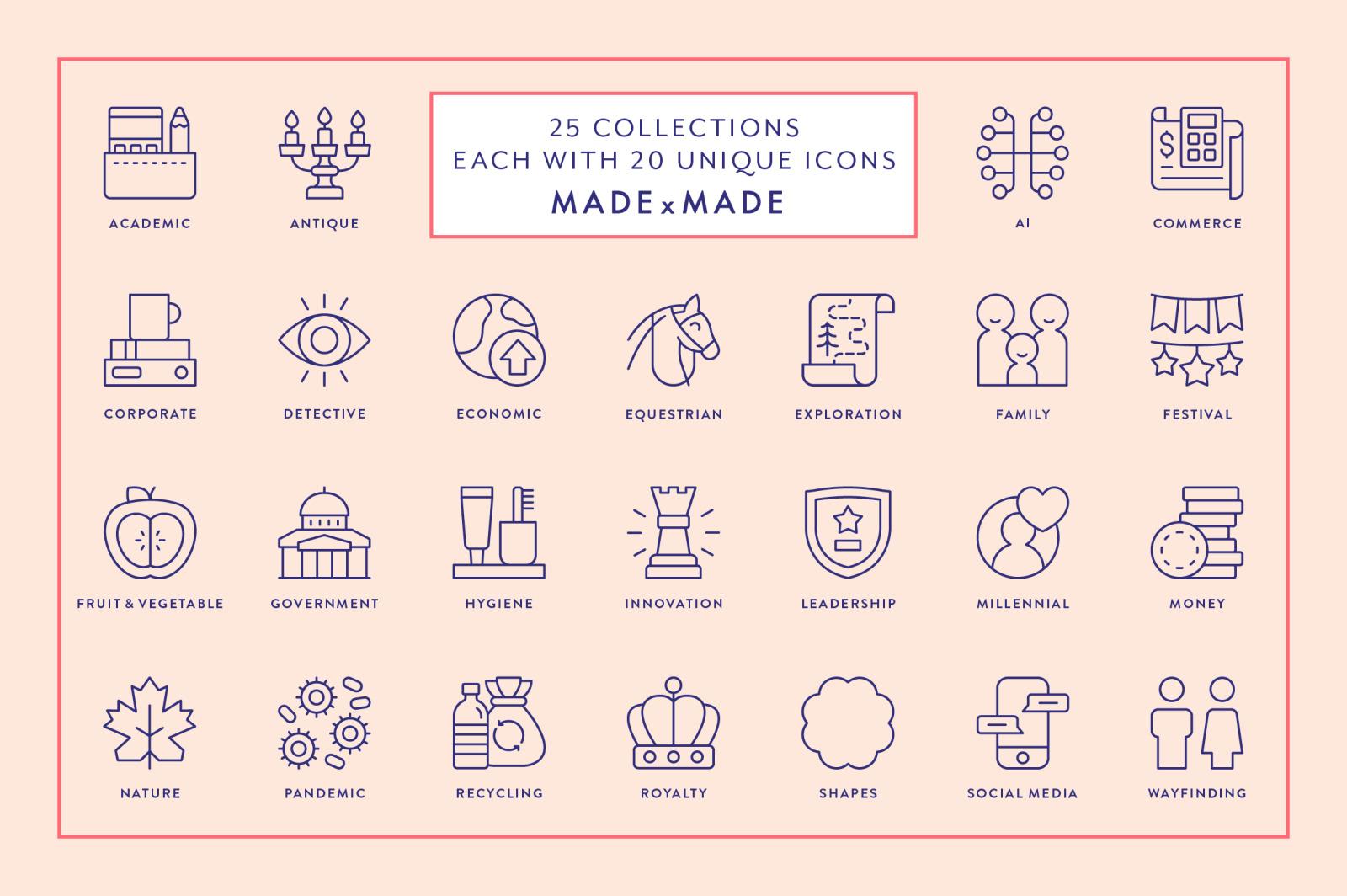 Line Icons – Mega Bundle Vol 6