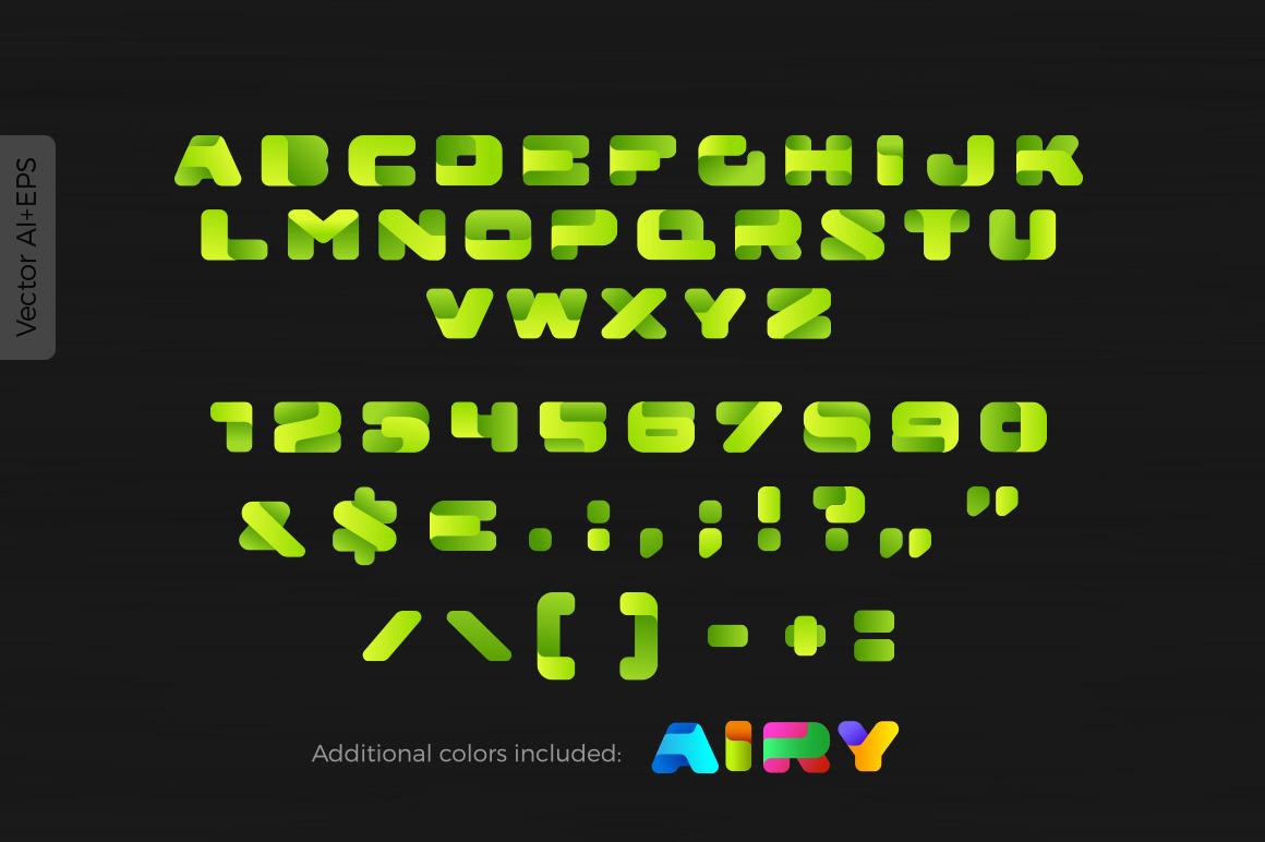 Airy Box Font