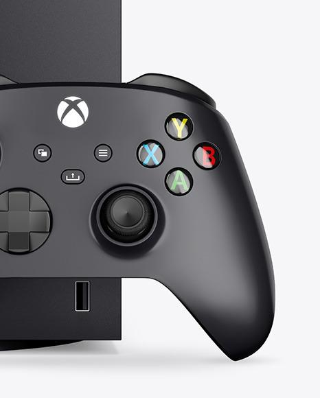 Xbox Series X Mockup