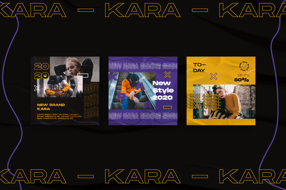 Kara Story & Feed Instagram Template