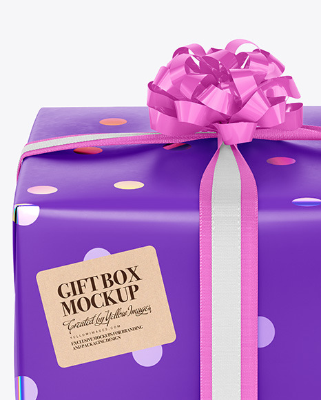 Giftbox Mockup