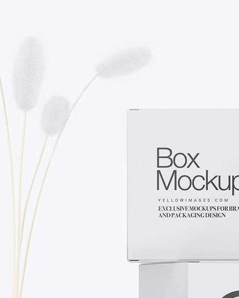 Boxes W/ Jar & Bottle Mockup