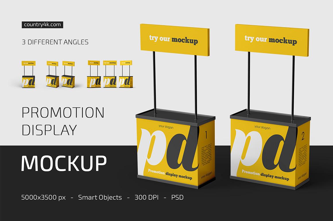 Promotion Display Mockup Set