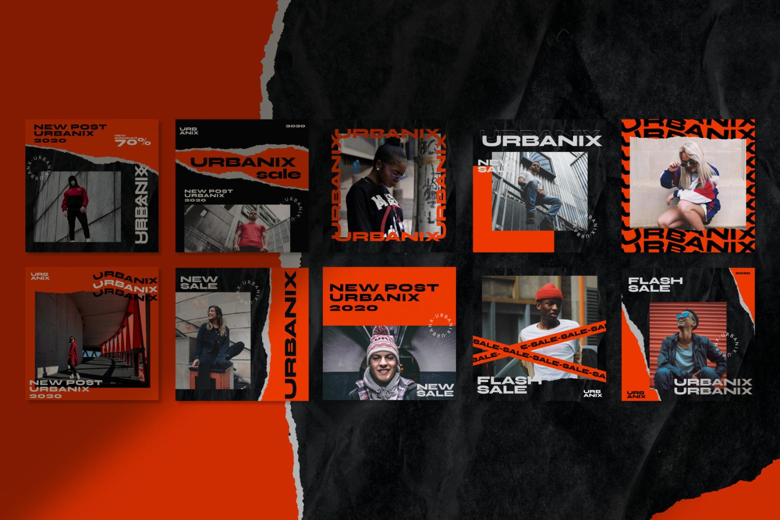 Urbanix Instagram Post Square