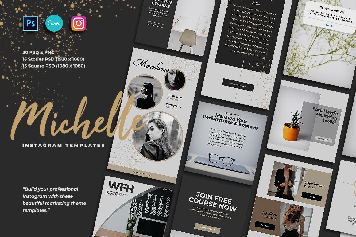 Michelle Instagram Post Stories