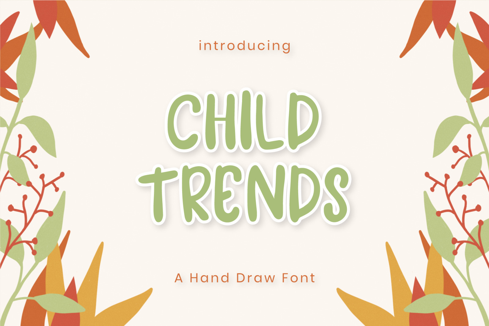 Child Trends Display Font