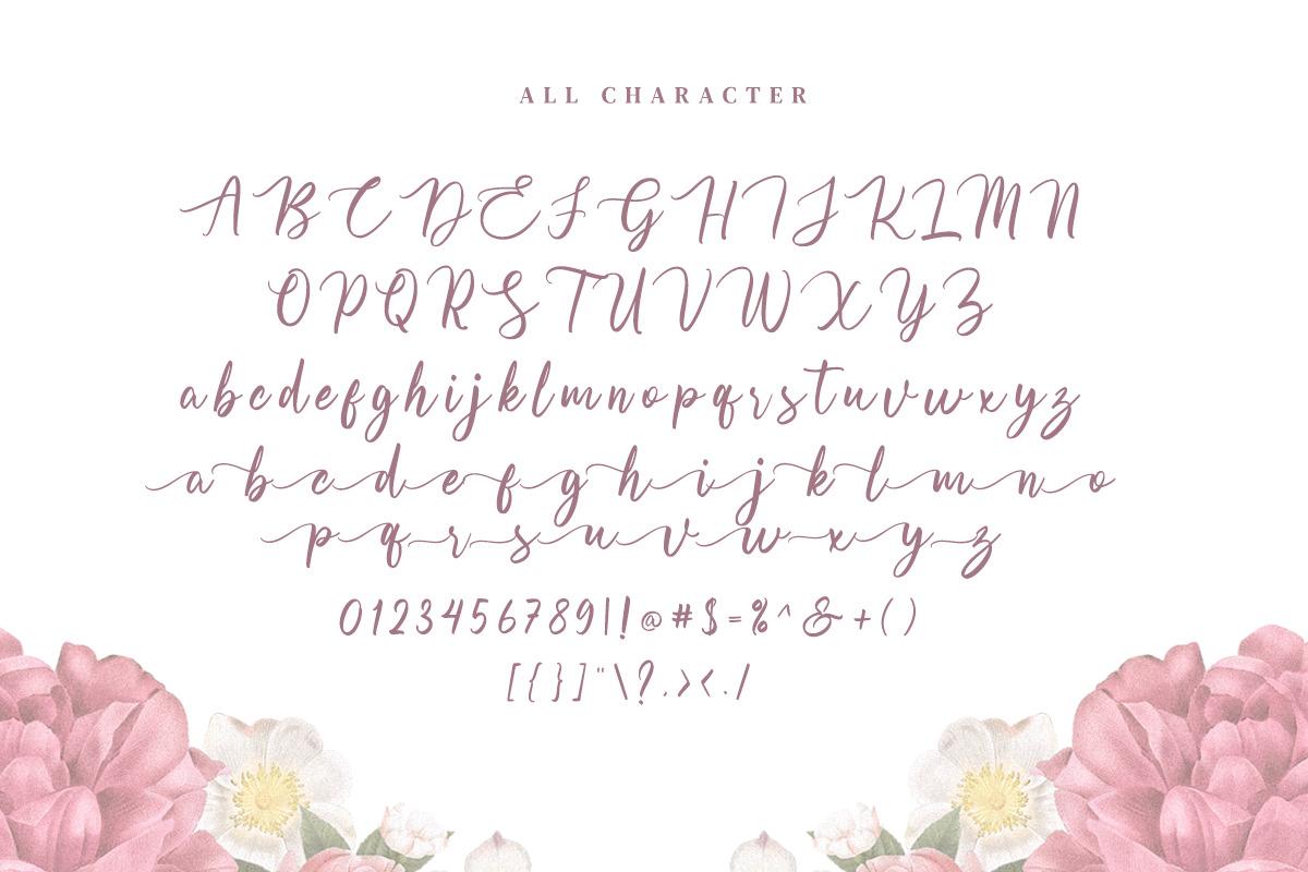 Olsaviella Signature Font