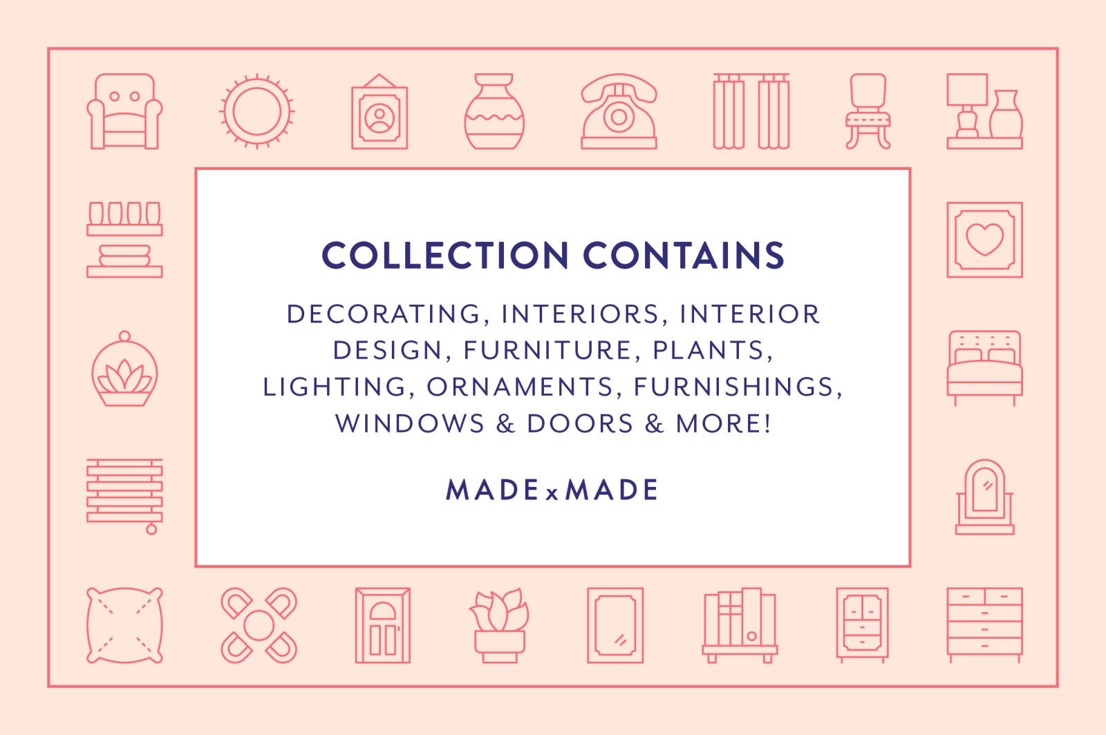 Line Icons – Decorating