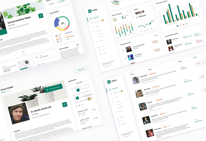 Multipurpose Admin Dashboard UI Template
