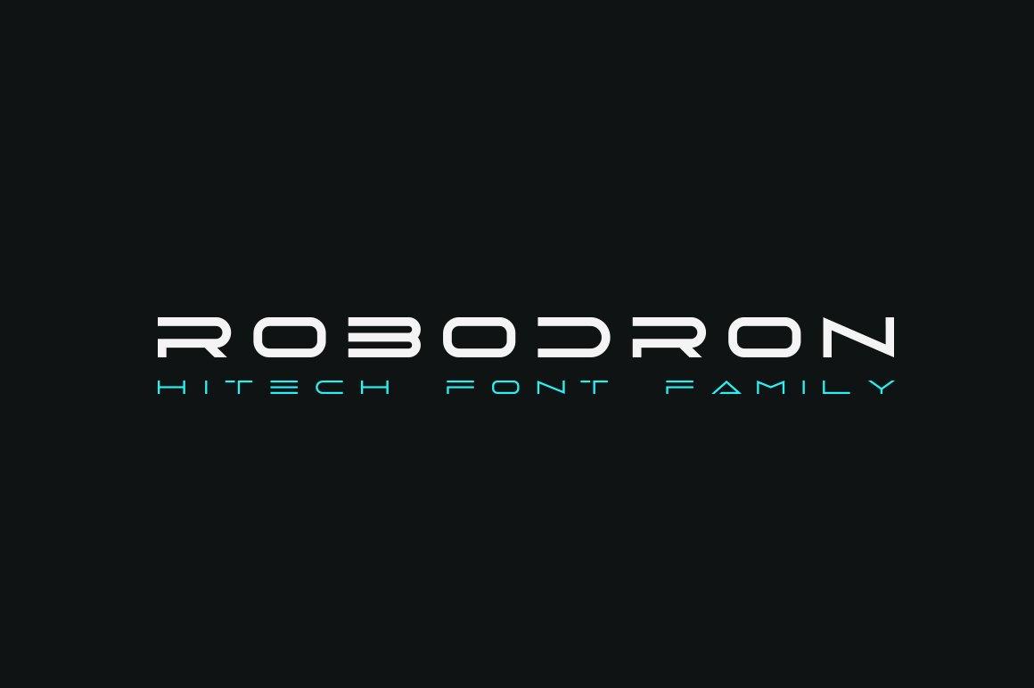 Robodron Font