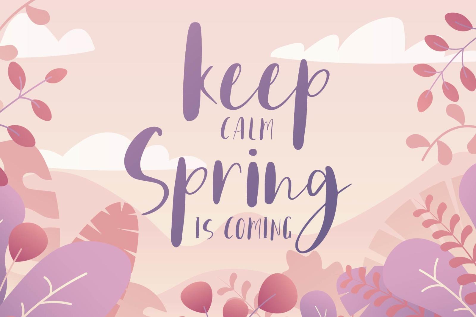 Home Spring - Handwritten Font