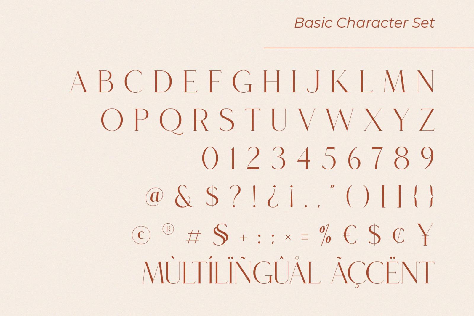 Roseritta - Ligature Serif