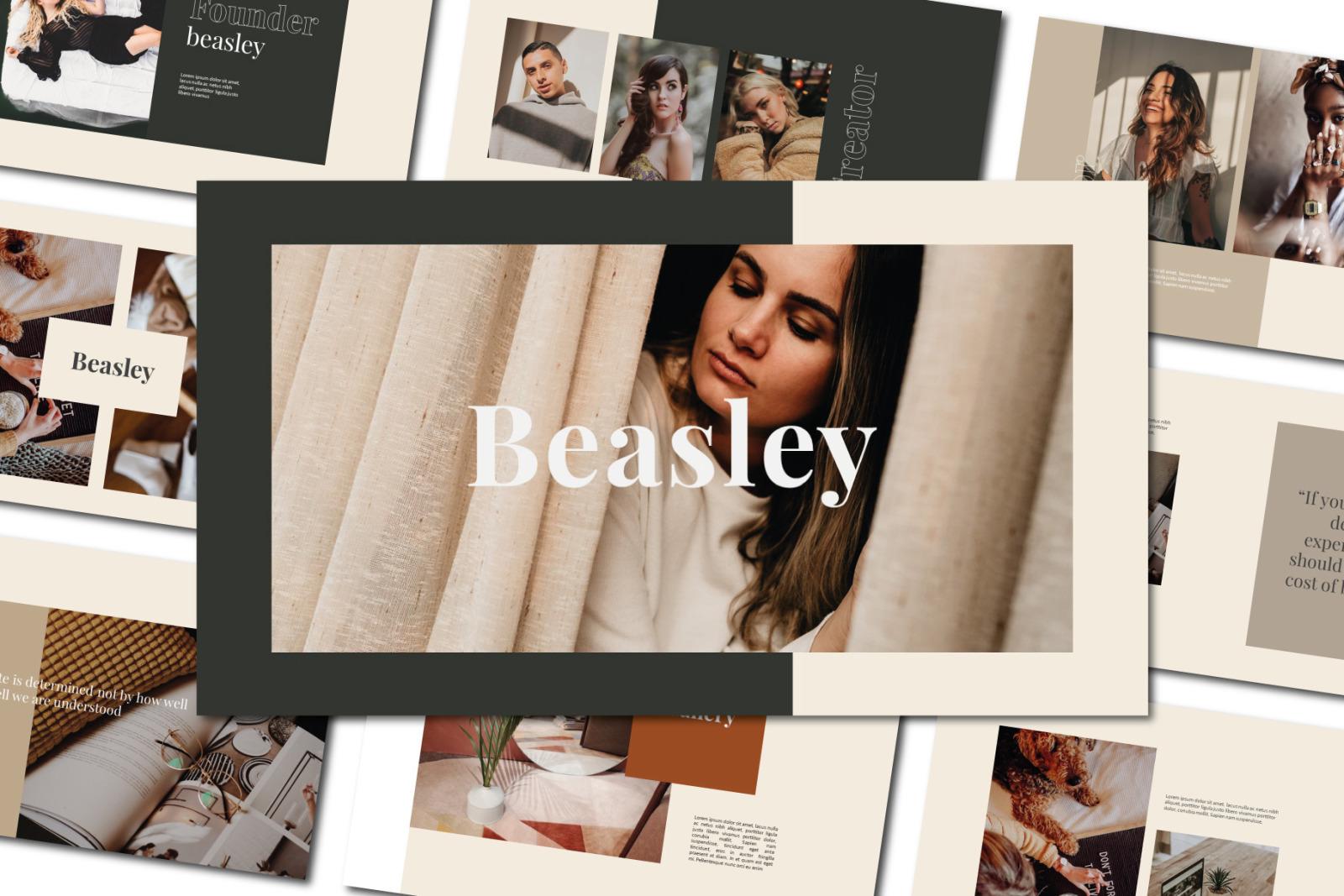 Beasley Keynote Template