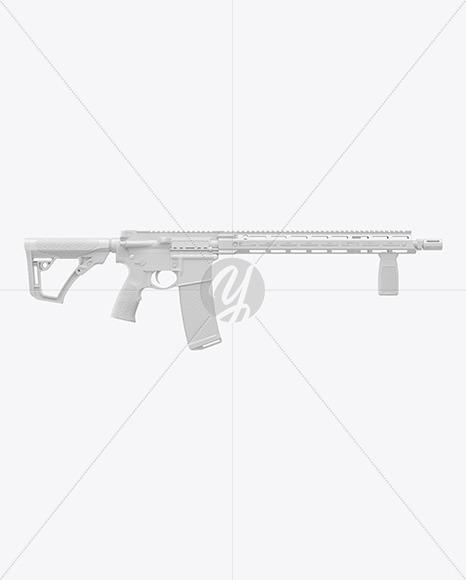 Rifle DDM4 V7 Mockup