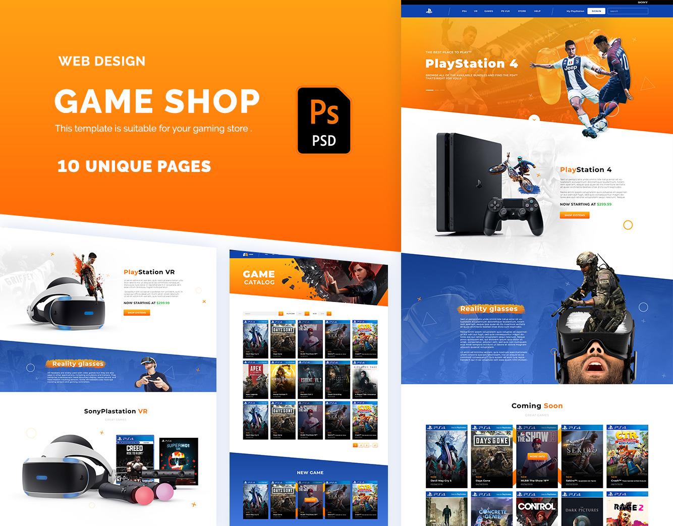 Game Store UI Kit