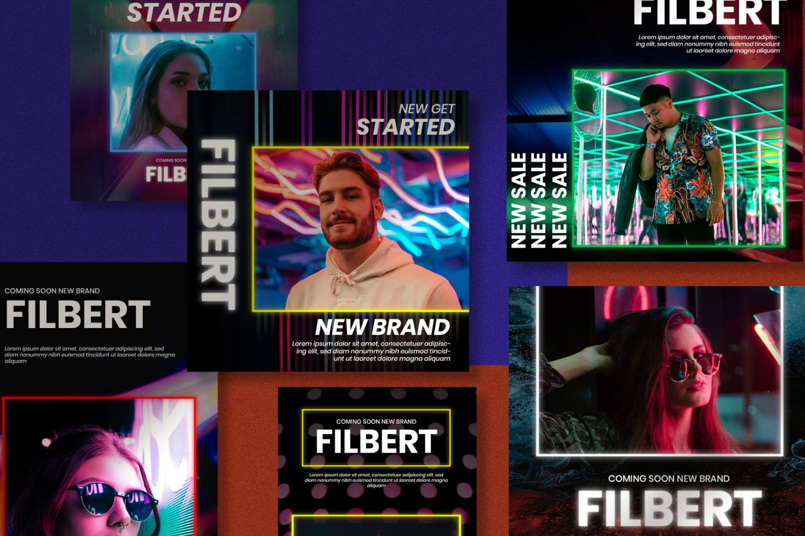 Filbert Instagram Post Stories