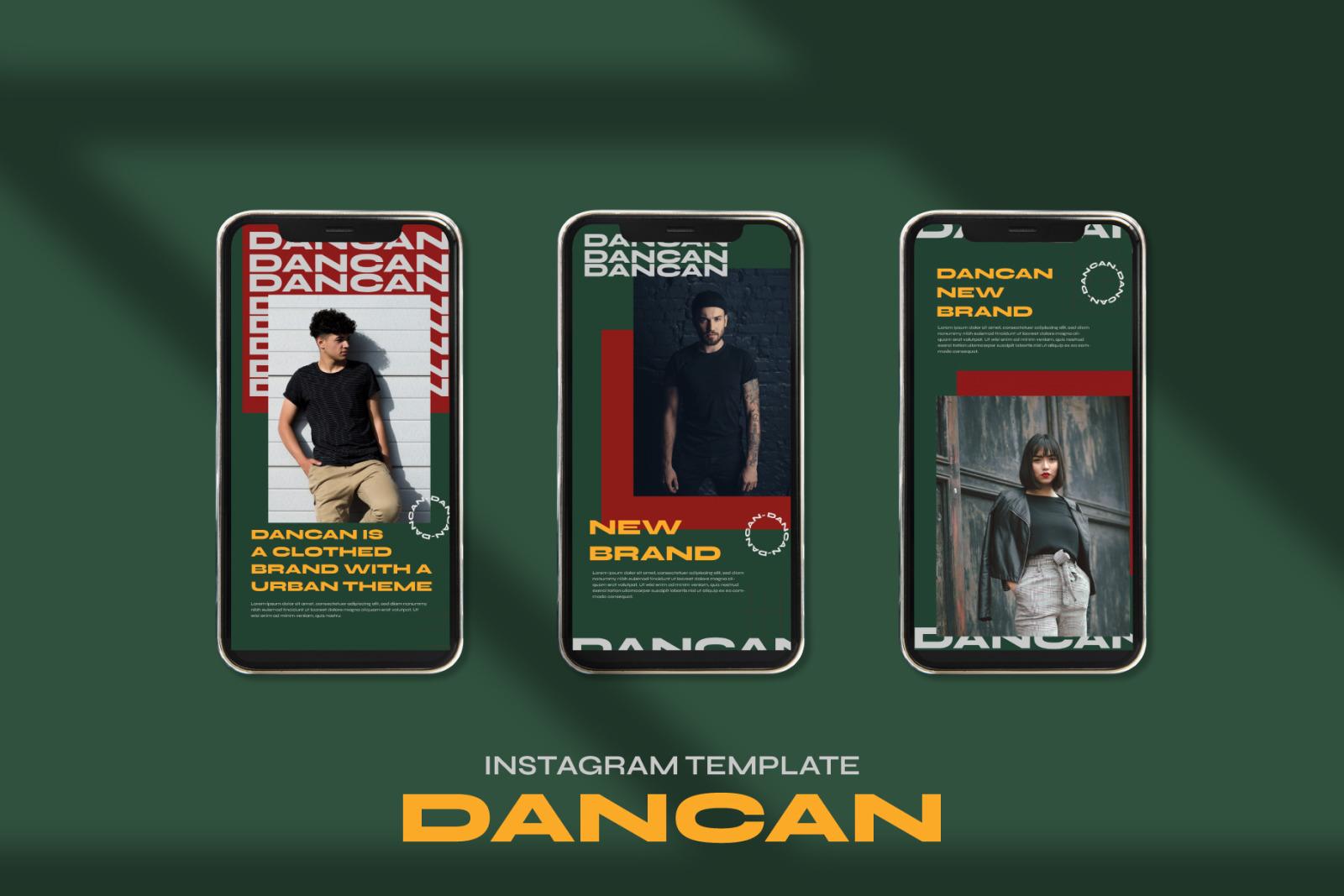 Dancan Instagram Post Stories