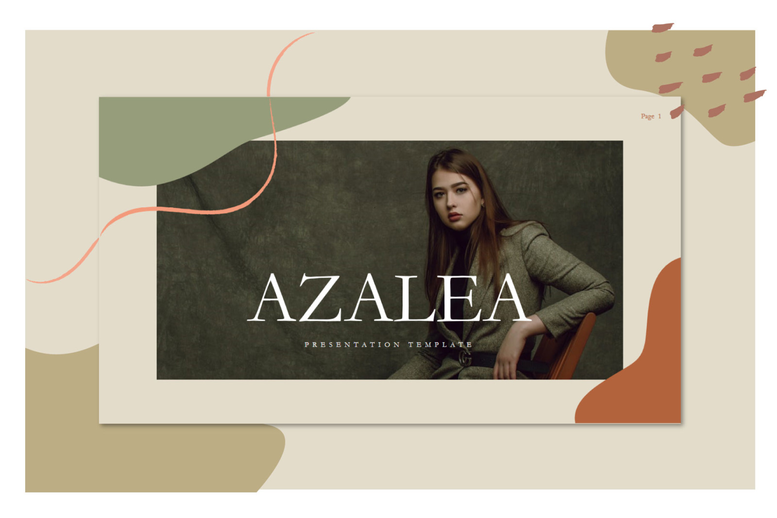 Azalea Keynote Template
