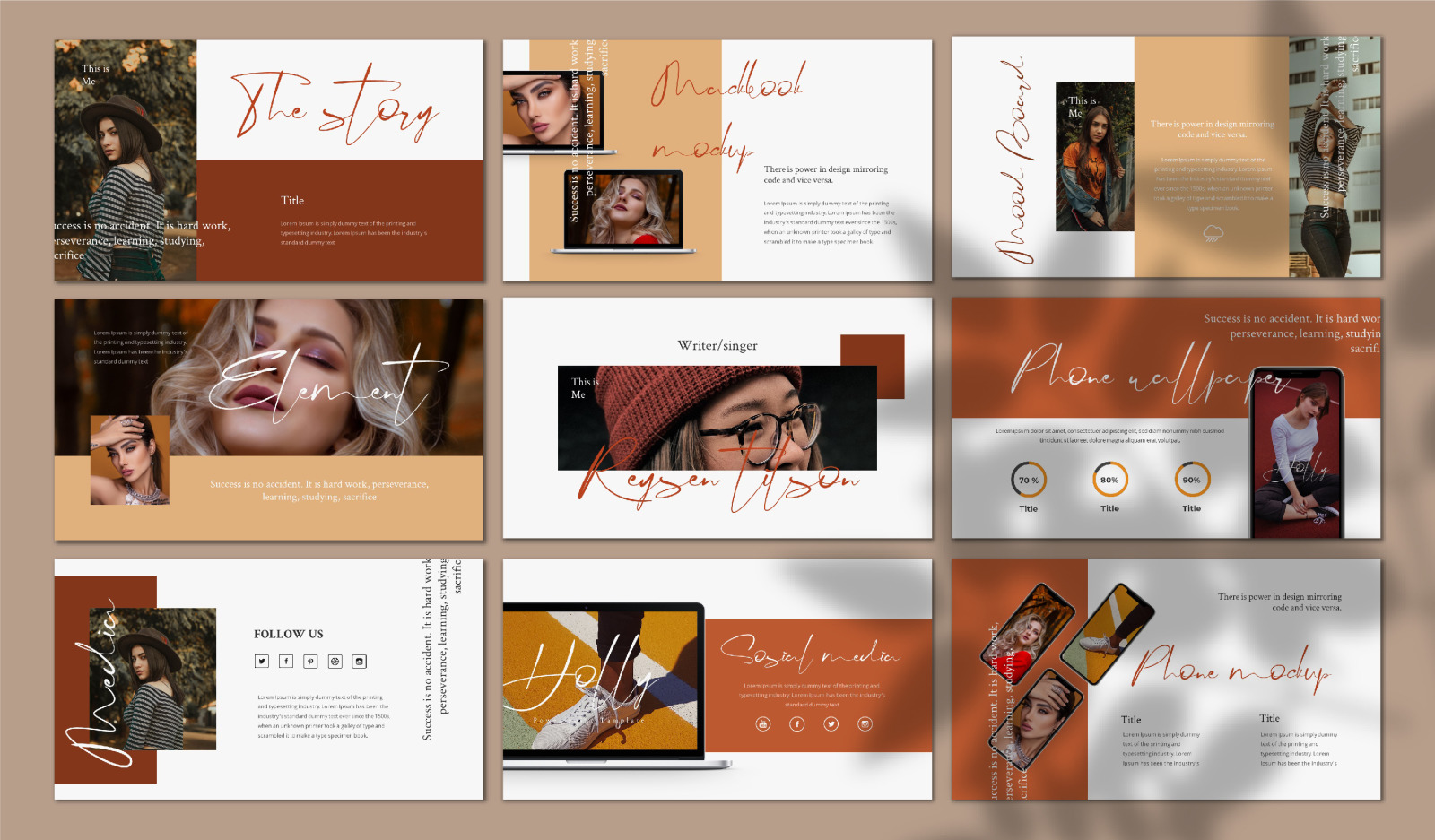 Holly Keynote Template