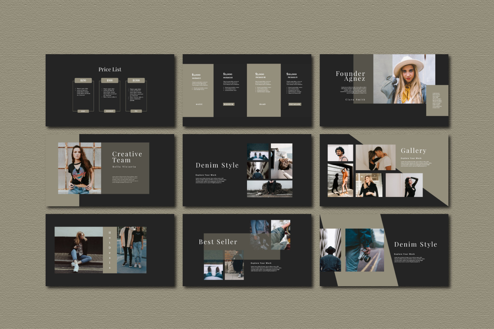 Agnez Keynote Template