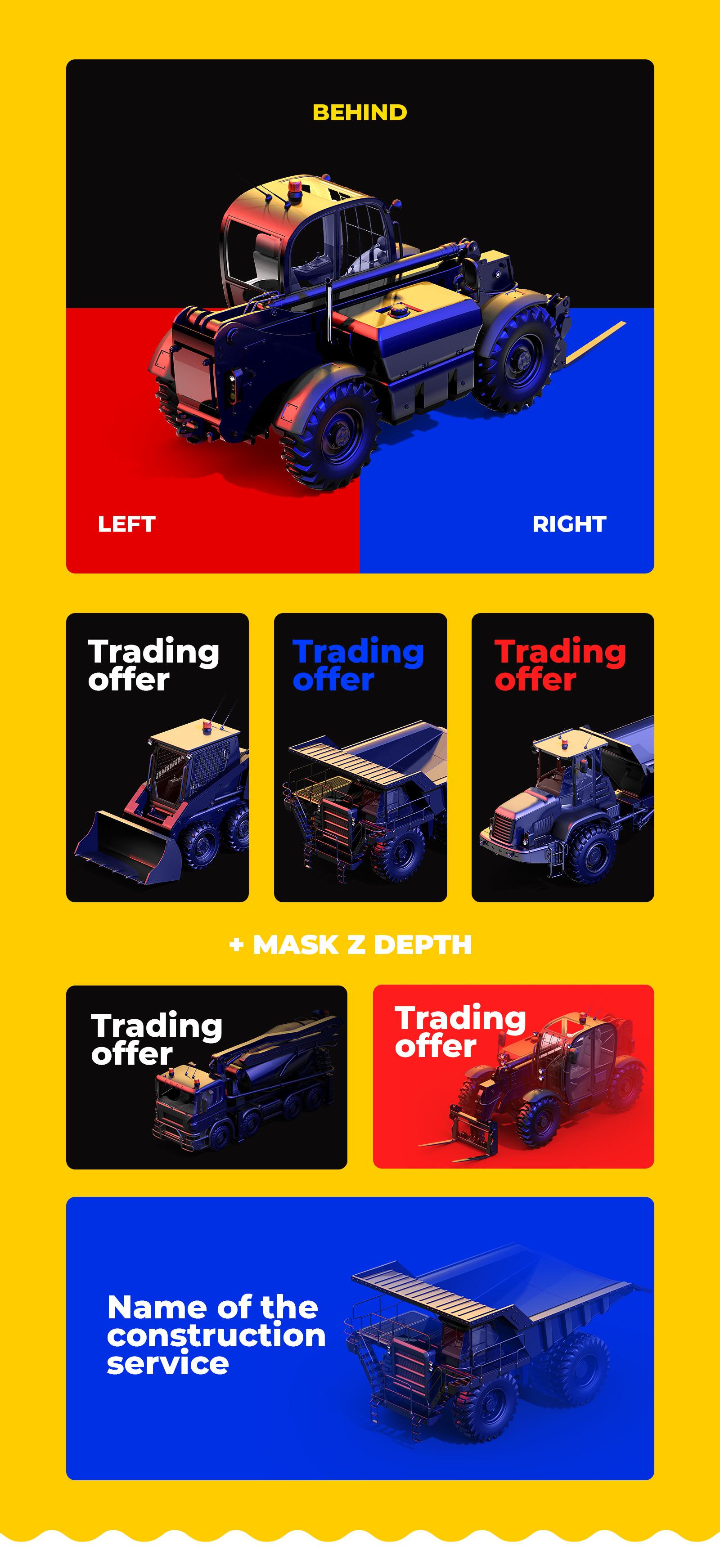 PSD Heavy Machines Mockup 360 PRO #04