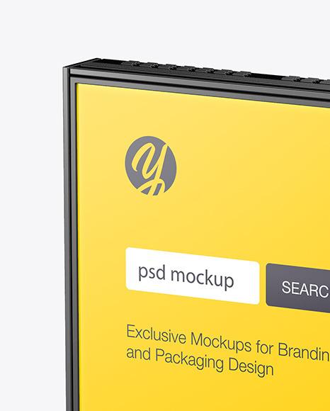 Digital Display Stand Mockup