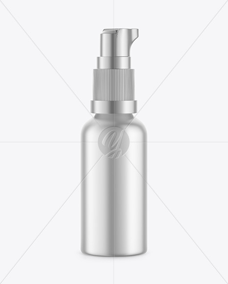 Download Metallic Post Shave Lotion Mockup In Bottle Mockups On Yellow Images Object Mockups PSD Mockup Templates