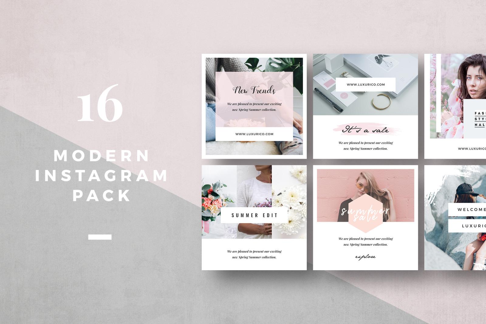 Modern Instagram Pack