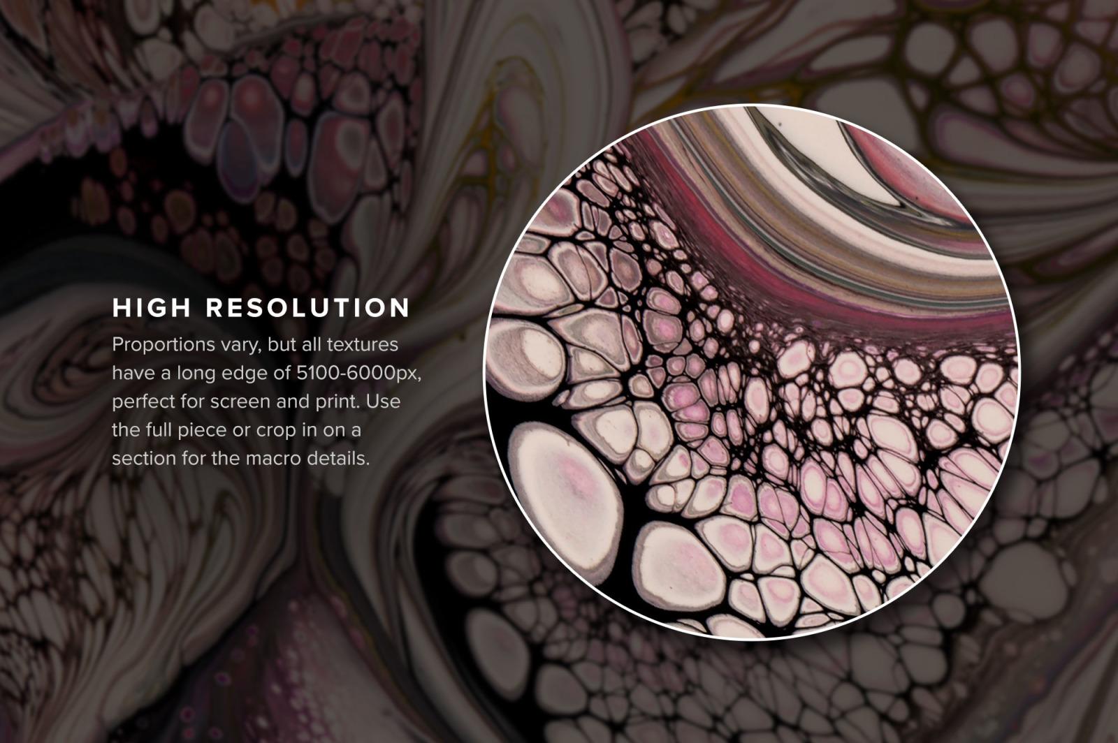 Viscosity: Fluid Acrylic Paint Textures