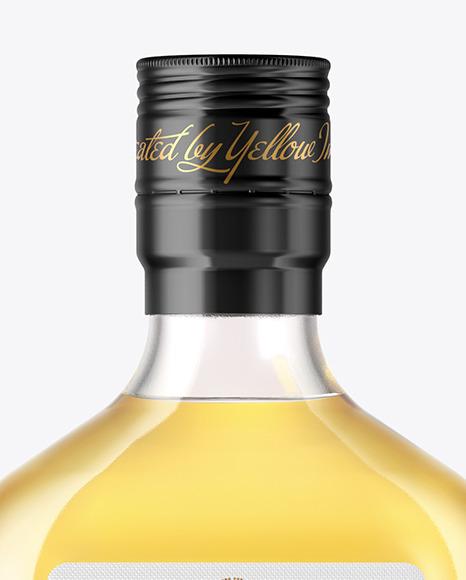 Glass Tequila Bottle Mockup