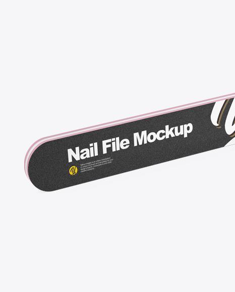 Nail File Mockup