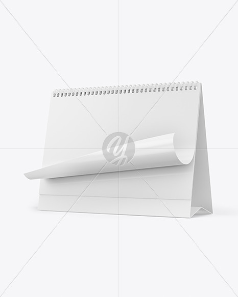 Download Calendar Mockup In Stationery Mockups On Yellow Images Object Mockups PSD Mockup Templates