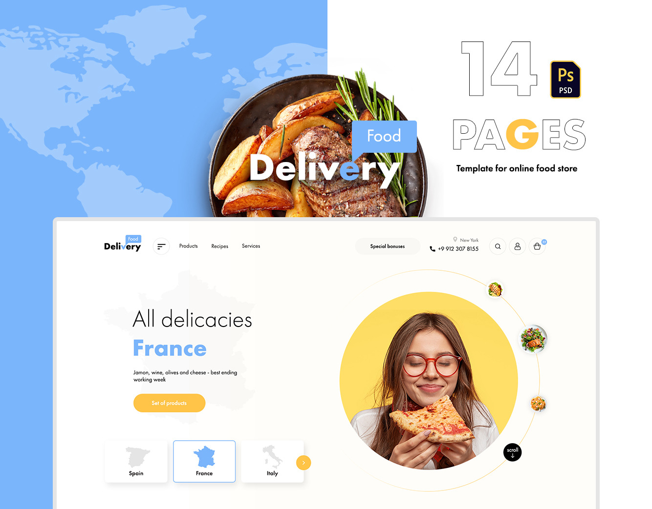 Food Delivery UI kit