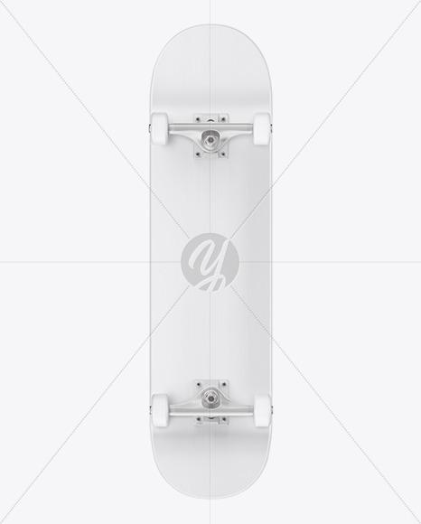 Skateboard Mockup - Front View