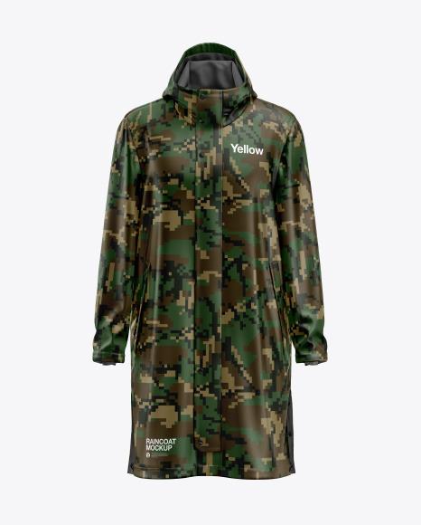 Raincoat Mockup