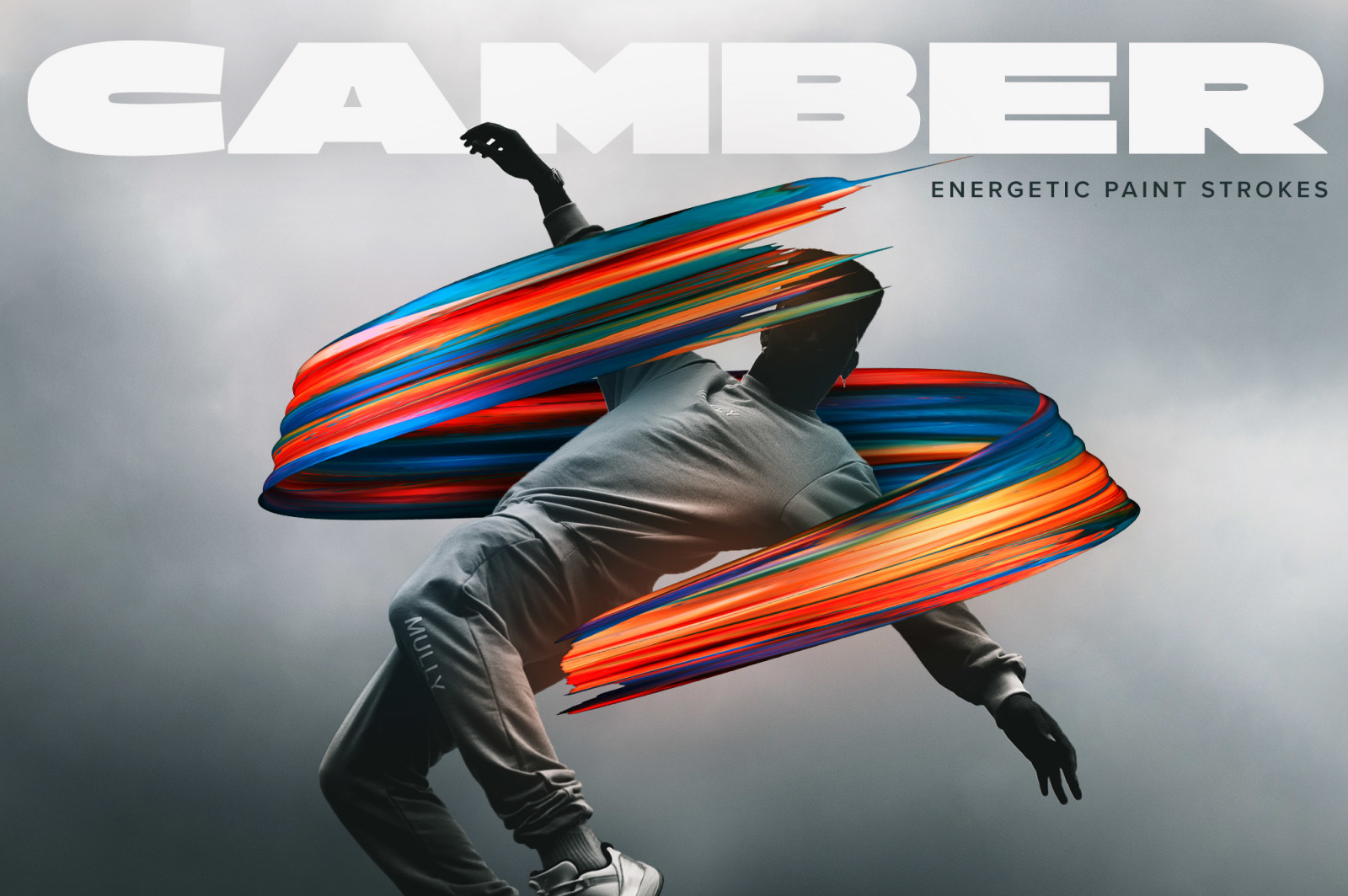 Camber: Energetic 3D Paint Strokes
