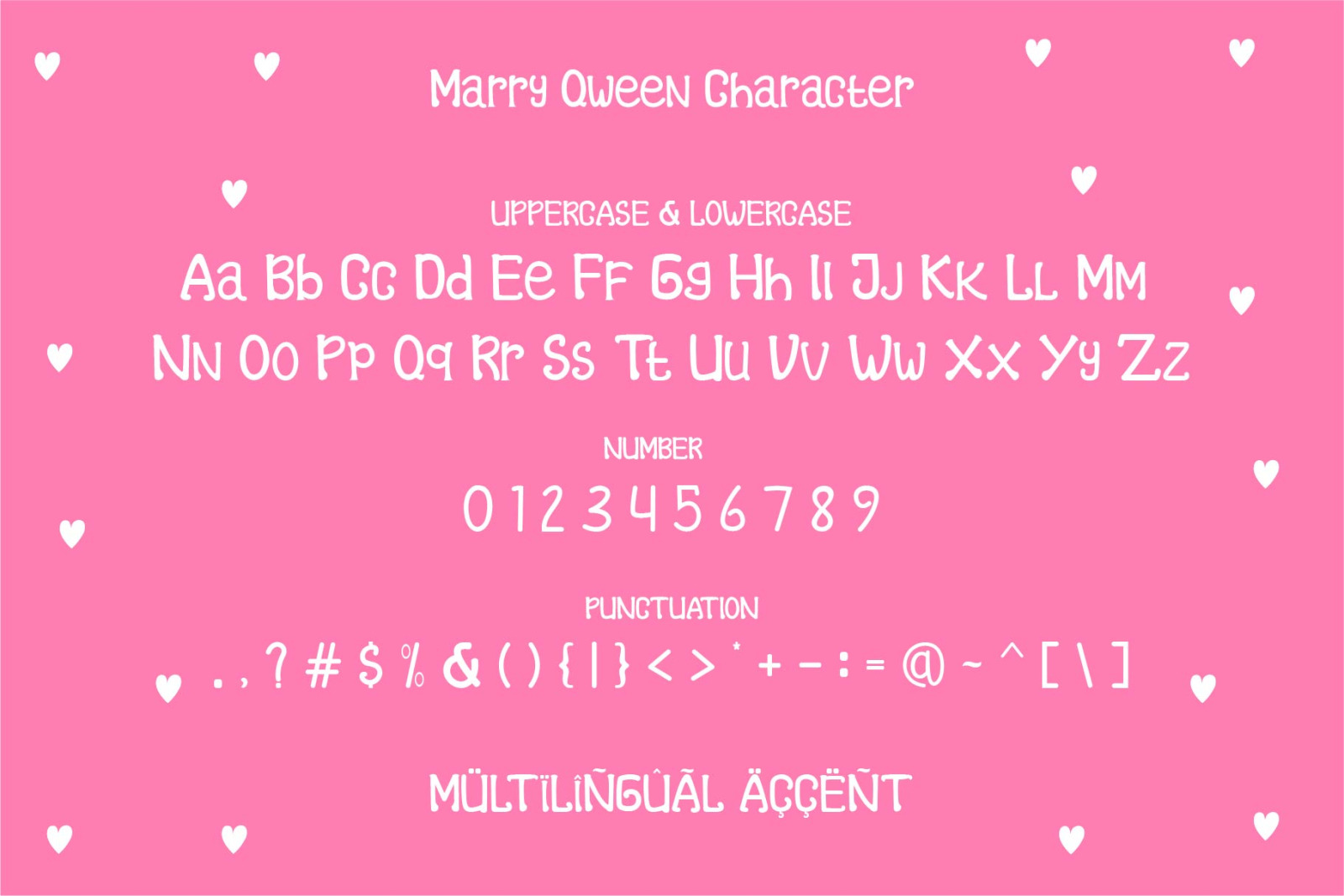 Marry Qween Font