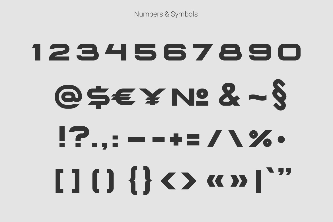 Spacegate Technology Font