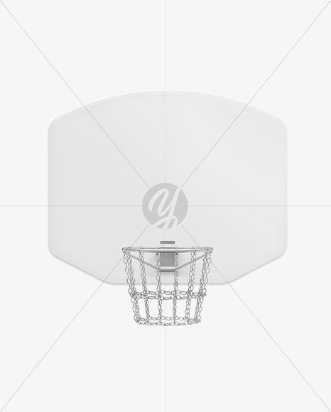 Basketball Backboard Mockup
