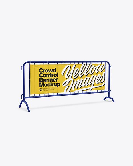 Crowd Control Banner Mockup