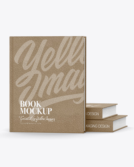 Download Hardcover Book W Leather Cover Mockup In Stationery Mockups On Yellow Images Object Mockups Yellowimages Mockups