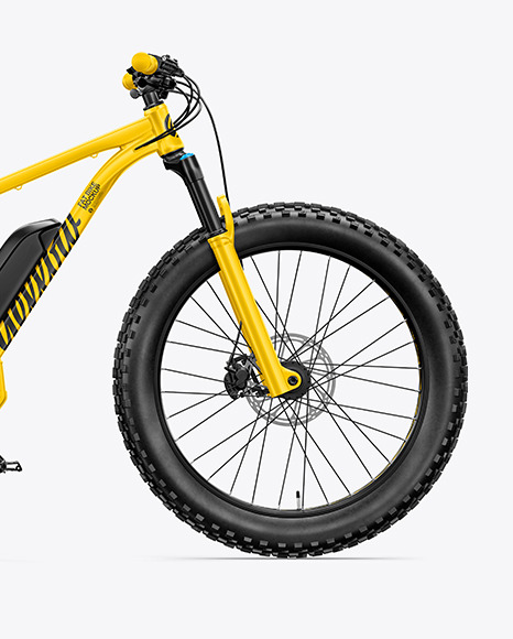 Fat Bike Mockup - Right Side View
