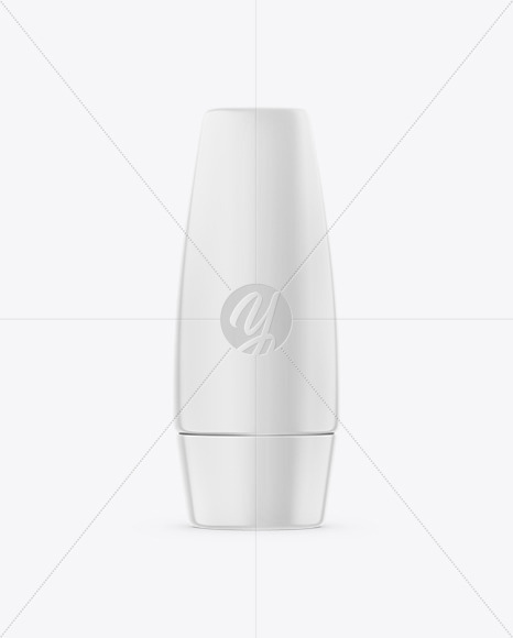 Cosmetic Tube Mockup - Front View